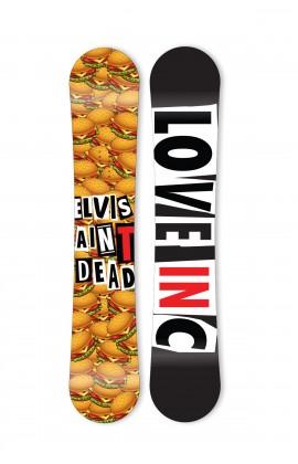 Elvis Aint Dead Snowboard - Flat Rocker