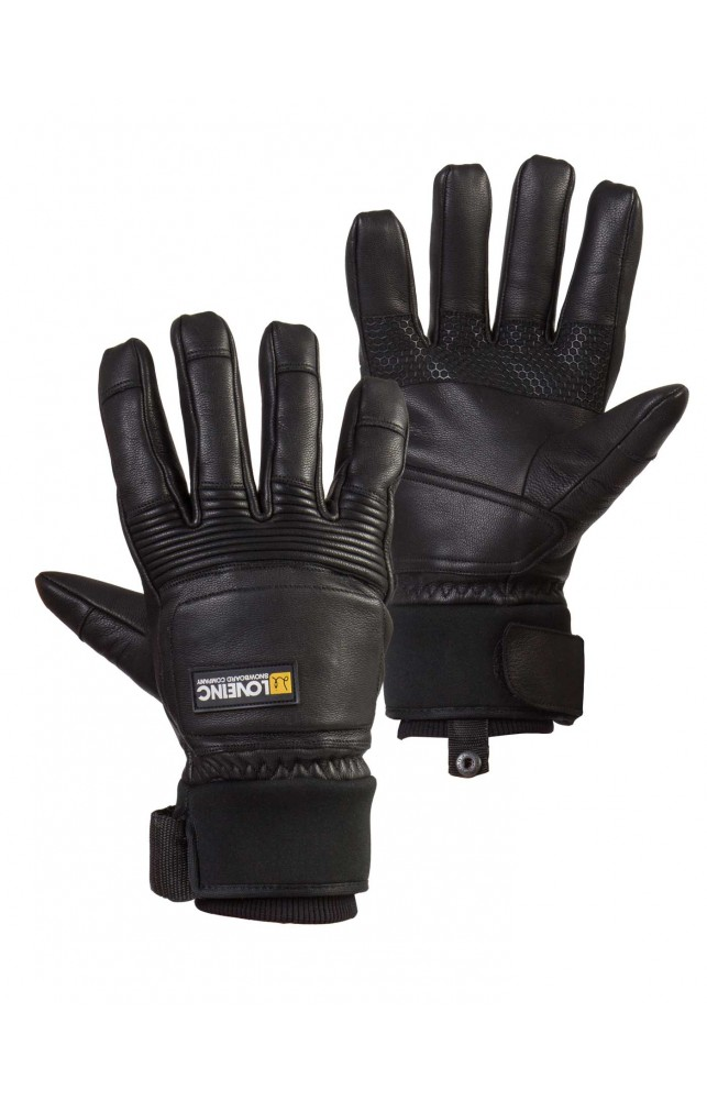 G'Love Low Snowboard Glove - Black