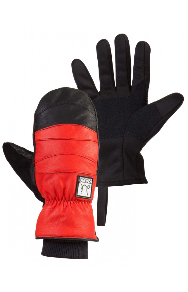 Chillton Snowboard Mitt - Red/Black