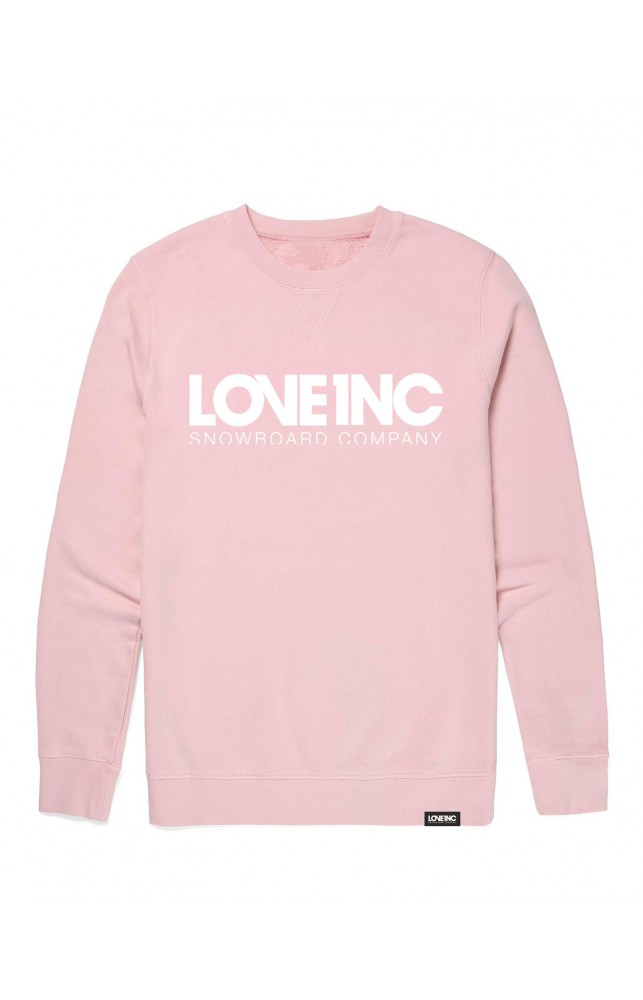 Crew Sweater - Pink